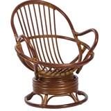 Кресло-качалка SWIVEL ROCKER, коньяк