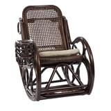 Кресло-качалка CORAL, орех