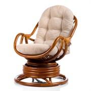 Кресло-качалка KARA, коньяк