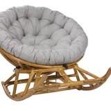 Кресло-качалка PAPASUN на полозьях, мёд