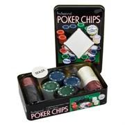 100 Фишек Для Покера Holdem Light без номинала