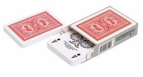 Карты для покера Old Trophy 100% пластик, Италия, красная рубашка