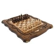 Шахматы + Нарды резные c Араратом 40