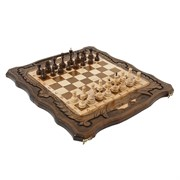 Шахматы + Нарды резные c Араратом 50