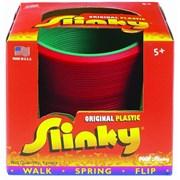 Пружинка Слинки пластик, разные цвета