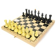 """Шахматы """"Айвенго"""" обиходные с деревянной шахматной доской"""