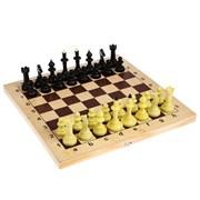 """Шахматы """"Айвенго"""" обиходные с деревянной шахматной доской и шашками"""