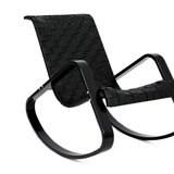 Кресло-качалка Дженни, Черный каркас