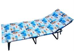 Детская раскладушка Мечта М с матрасом + подголовник (раскладная кровать) 1600х600х290мм