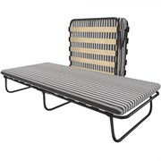 Раскладушка Leset 203 с матрасом (кровать раскладная) 1900х800х335мм