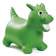 Попрыгун надувной 10LW Динозаврик (с насосом, зеленый)