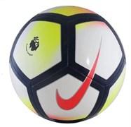 Мяч футбольный NIKE Pitch PL р.5, желто-розово-т.сине-белый