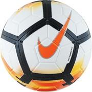 Мяч футбольный NIKE Strike 2018, оранжево-черно-белый