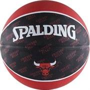 Мяч баскетбольный SPALDING 2015 JR NBA/RG р. 5, резина, мультиколор