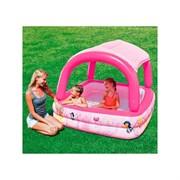 Надувной бассейн с тентом от солнца Disney Princess Bestway 91057 (147х147х122см)