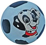 Мяч д. 150мм (1-2цвет) с ручной раскр. (сказка) лак. с-49ЛП (рисунок)