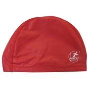 Шапочка для плавания полиуретановая PU40 (красная)