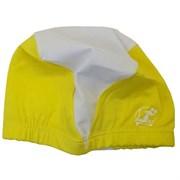 Шапочка для плавания полиэстеровая PL40 (желтая)