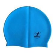 Шапочка для плавания силиконовая SH20 (голубая)