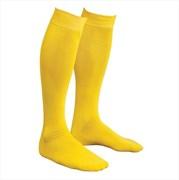 Гетры футбольные желтые