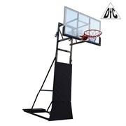 Баскетбольная мобильная стойка DFC STAND56Z 145х82см (5 коробов)