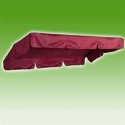 Тент SEBO Усиленный для качелей Капри  Бордо 225x145см