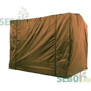 Чехол укрытие SEBO для садовых качелей Элит Люкс Плюс Шоколад 252x143x170см