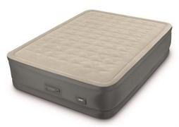 Кровать надувная двуспальная 152х203х46см Intex 64926 со встроенным насосом 220В