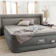 Кровать надувная двуспальная 152х203х46см Intex 64770 со встроенным насосом 220В