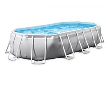 Каркасный бассейн Intex 26798 (610х305х122см) + фильтр-насос, лестница, тент, подстилка