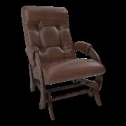 Кресло-качалка, модель 68 шпон, орех