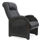 Кресло для отдыха, модель 43, венге без лозы