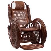 Кресло-качалка ALEXA, Коньяк