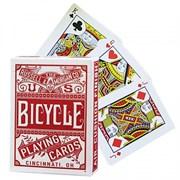 """Карты """"Bicycle Chainless"""", красная рубашка"""