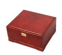 Кейс для покера деревянный на 250 фишек красный, шт