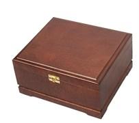 Кейс для покера деревянный на 250 фишек темный