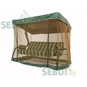Москитная сетка SEBO для качелей Капри, Корфу Зеленая 230x145x170см