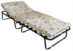 Раскладушка Эльза с матрасом + подголовник, ограничители матраса (раскладная кровать) 2000х800х400мм