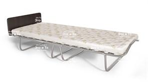 Раскладушка Князь (дуб, орех, венге) с матрасом + изголовье, ограничители матраса (кровать раскладная) 1920x800x400мм
