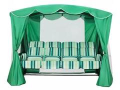 "Москитная сетка с тентом SeBo для качелей ""Монарх"" Зеленая 240х139х203см"
