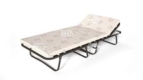 Раскладушка Bliss - блаженство с матрасом + рег.подголовник (раскладная кровать) 2040х900х380мм