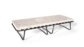Раскладушка Триумф с матрасом (кровать раскладная) 2000х800х450мм