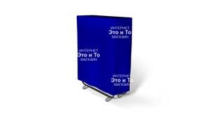 Чехол 120 см (синий) для раскладной кровати, раскладушки
