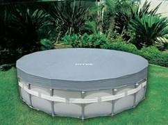 Тент для круглого каркасного бассейна 549см Intex 28041