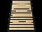 Двуспальная раскладушка Leset 217